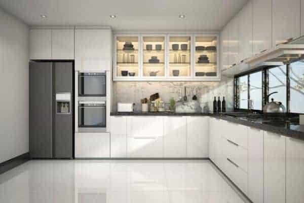 küche komplett montage